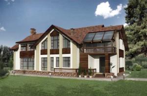 ArhDesignStroy-Dom-Karpati-fasad-1